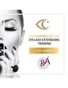 1-dniowy Kurs Przedłużania rzęs 4D-10D Russian Volume