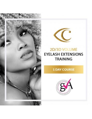 2D/3D Volume Eyelash Extensions Training (1-day course)