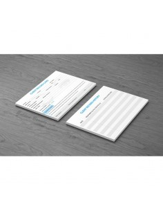 Pack of 10  Client Record Cards