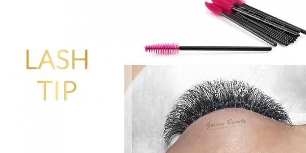 Lash Tip: Brush them daily