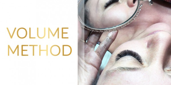 Eyelash extensions – volume method